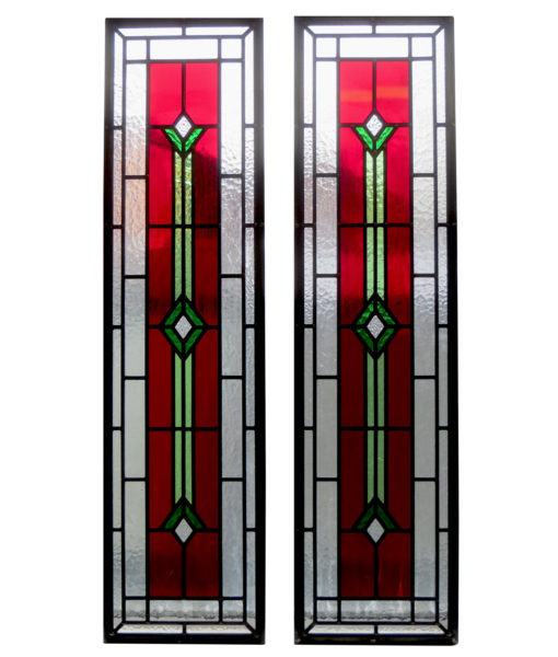 SG003 - Contemporary Art Deco Stained Glass Panels
