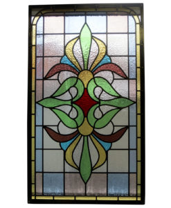 Traditional Intricate Stained Glass Panel