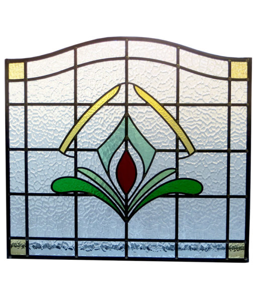 SG018 - Art Deco 1930s Stained Glass Panel