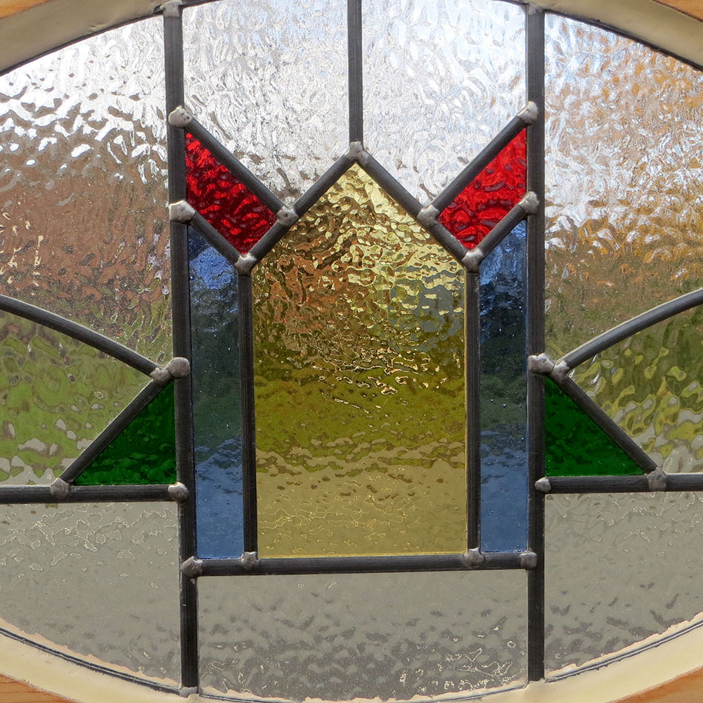 1930s period stained glass panel from period home style for 1930s stained glass window designs
