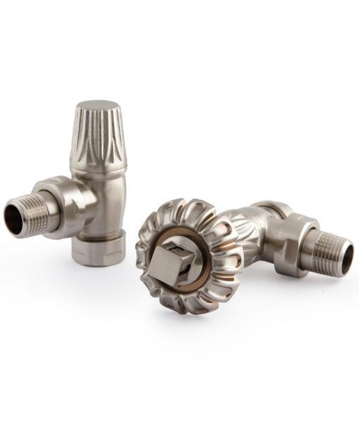 VAL014 - Satin Nickel Thermostatic Chatsworth Valves (TRV)