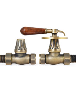 Natural Brass Renaissance Lever Handle Valves