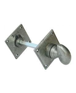 Pewter Diamond Bathroom Thumbturn