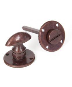 Bronze Round Bathroom Thumbturn
