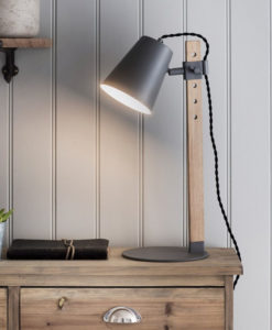 Charcoal Stockholm Table Light