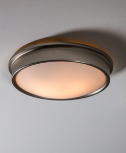 Satin Nickel Ladbroke Bathroom Ceiling Light