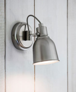 Satin Nickel Walton Wall Light