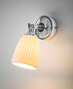 Ceramic Alma Bathroom Spotlight