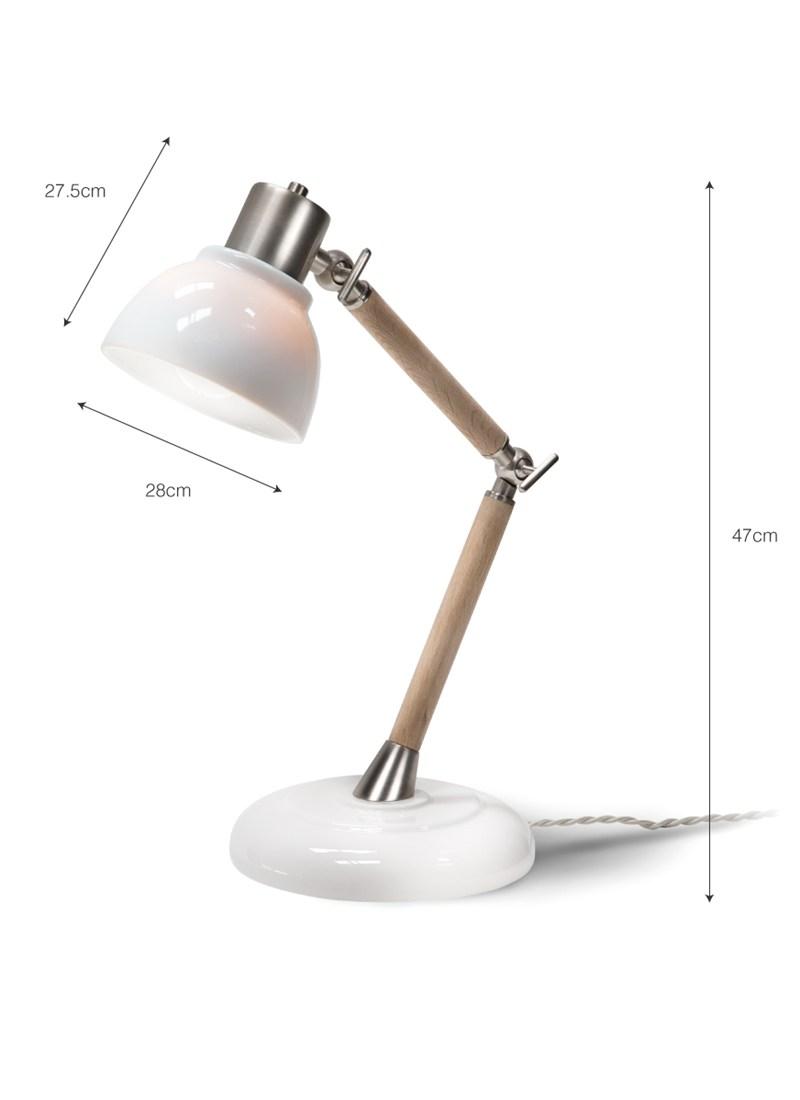 Porcelain Ledbury Table Lamp