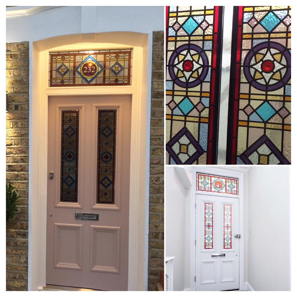 Mor stained glass entrance door flash sale at period for House entry doors sale