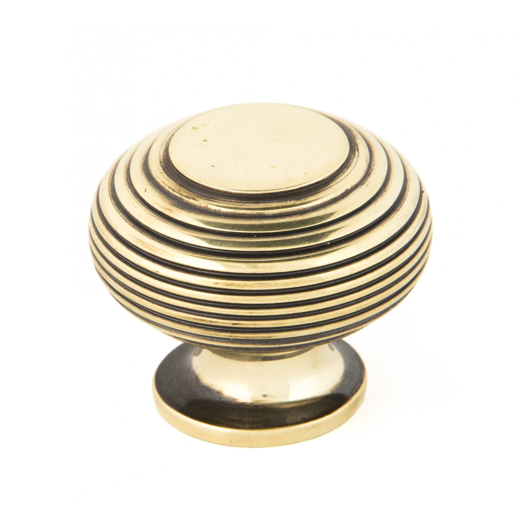 large aged brass beehive cabinet knob for sale period home style. Black Bedroom Furniture Sets. Home Design Ideas