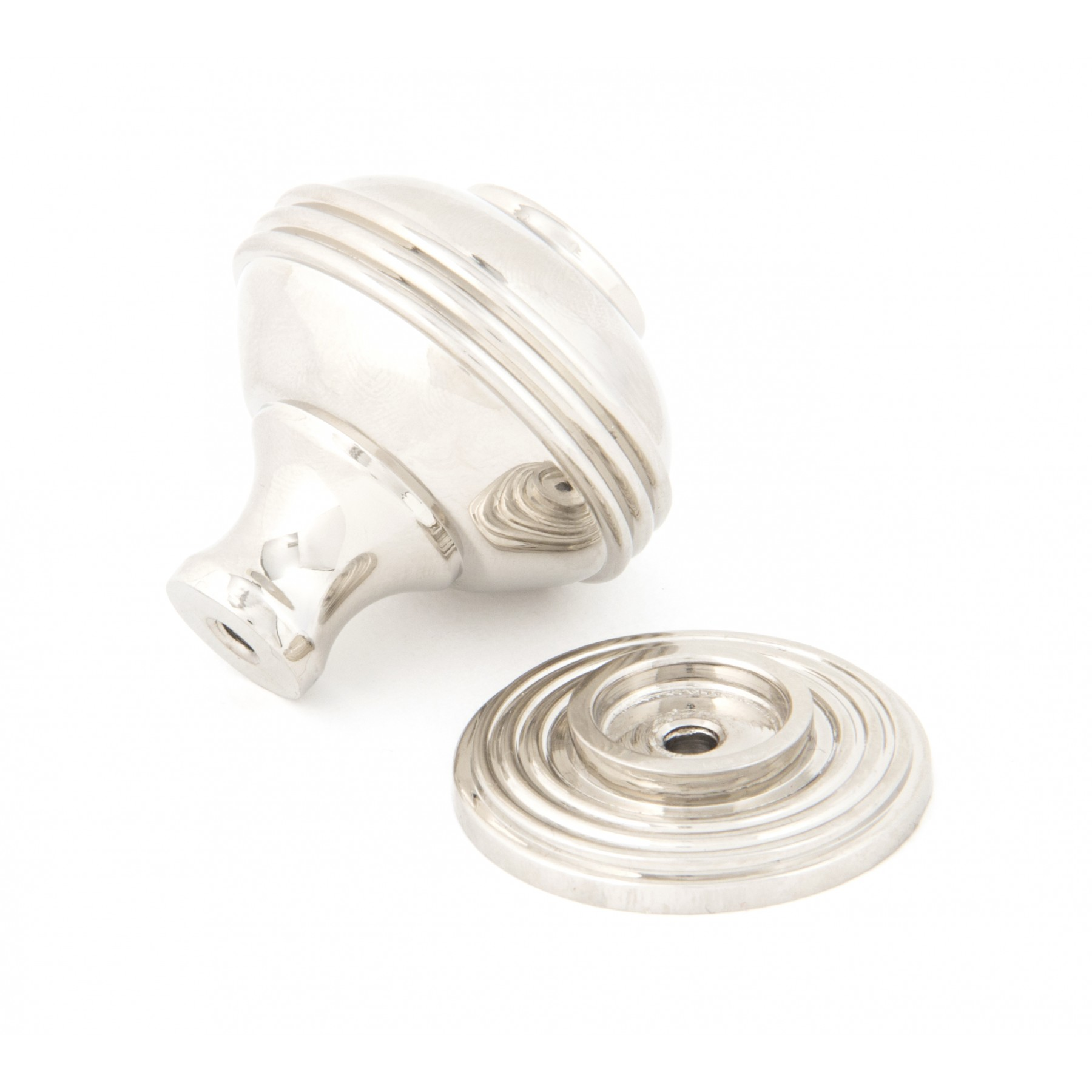 Polished Nickel Prestbury Cabinet Knob (Large)