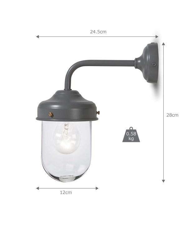 Charcoal Barn Light