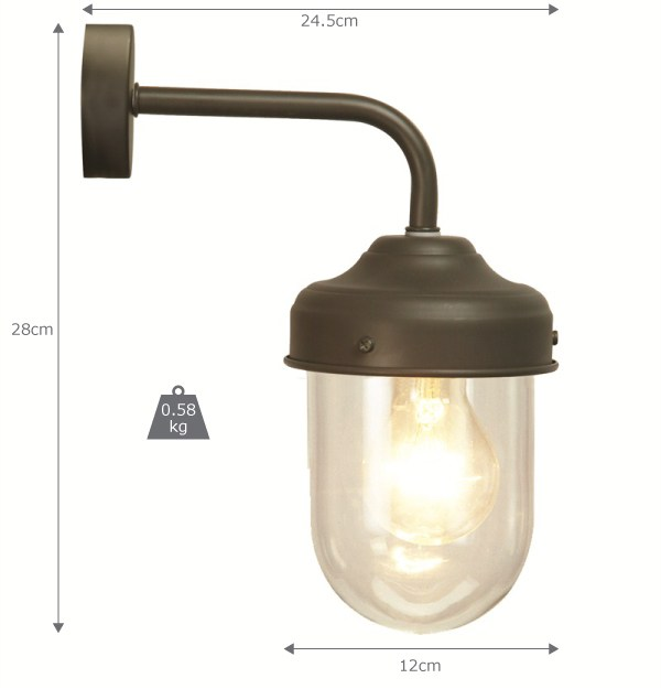 Coffee Bean Barn Light (Weatherproof