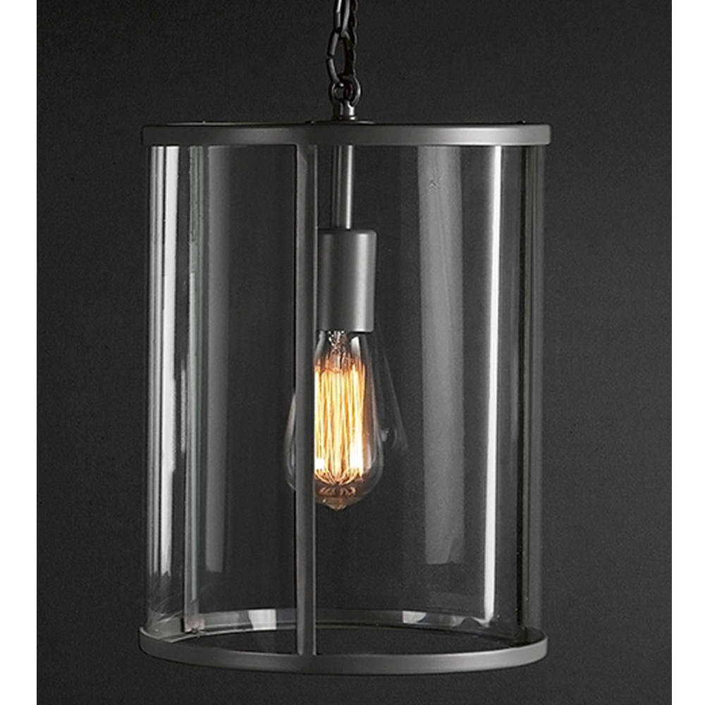 Barn Light Charcoal: Cadogan Pendant Light In Charcoal