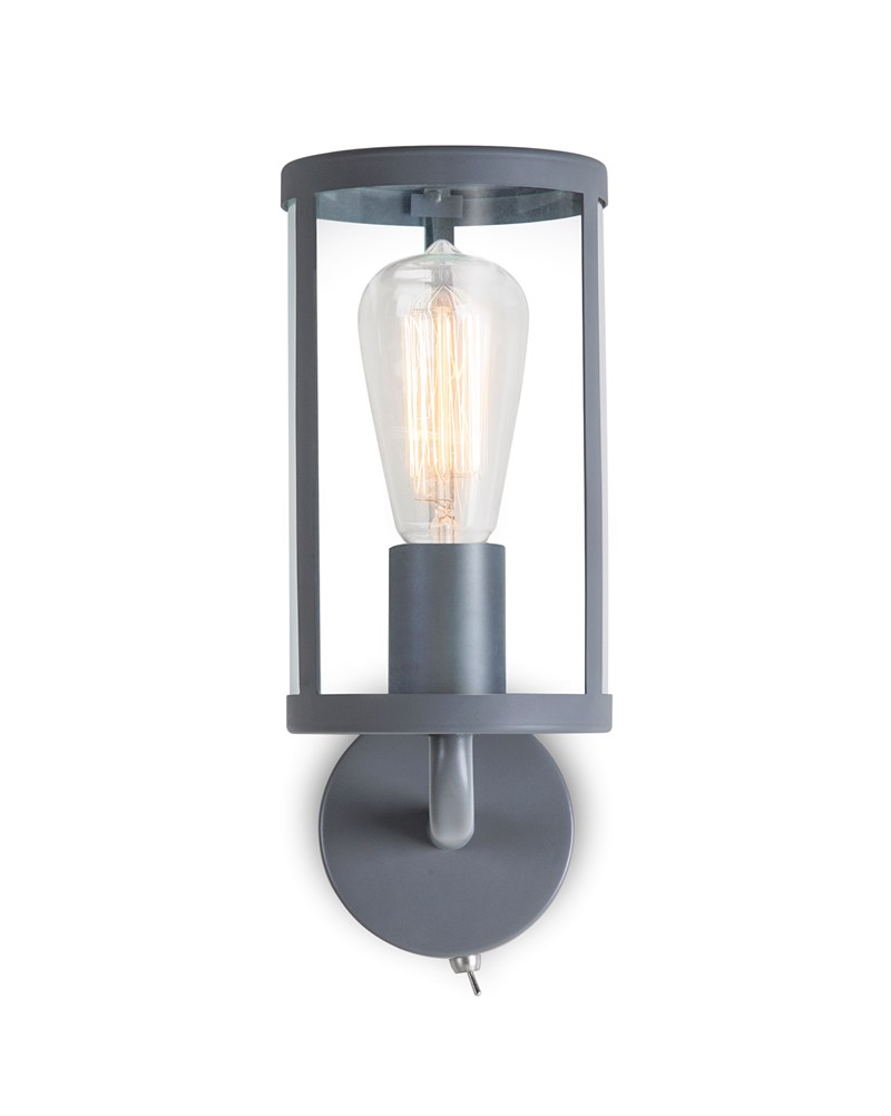 Wall Lights For Period Homes : Cadogan Wall Light In Charcoal - Buy From Period Home Style