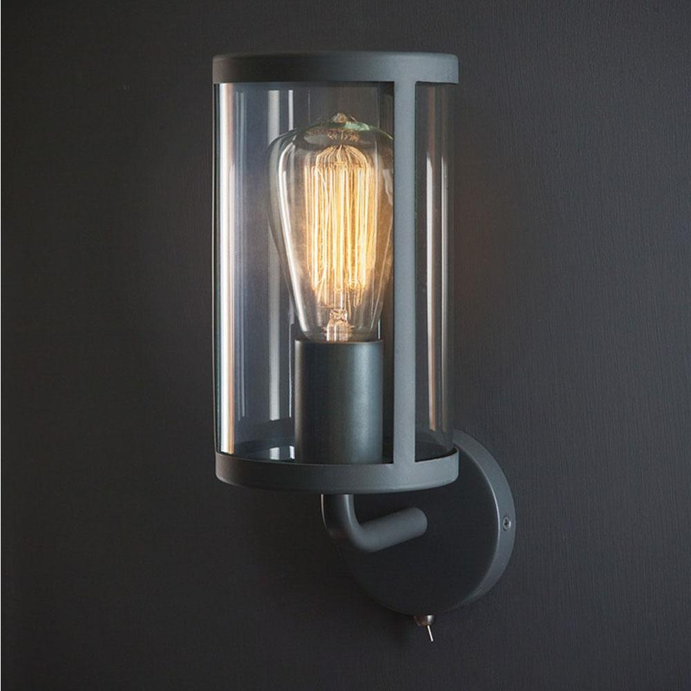 Wall Light Lamp Design: Cadogan Wall Light In Charcoal