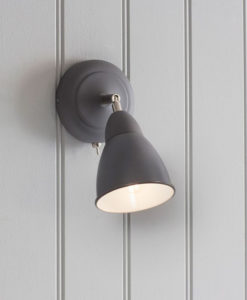 Charcoal Chiswick Wall Light
