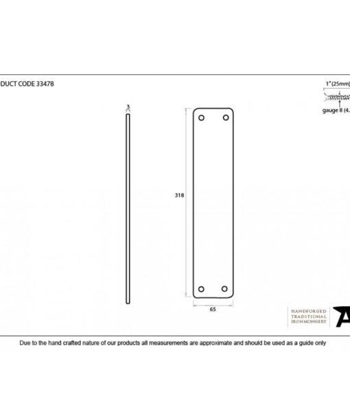 Beeswax Plain Fingerplate