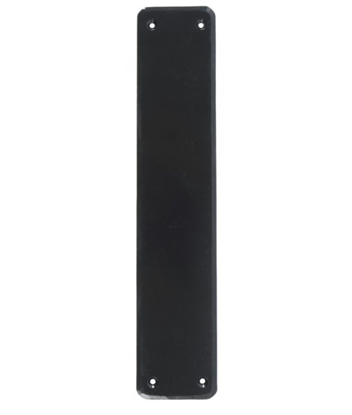 Black Plain Fingerplate