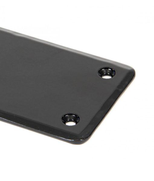 Large Black Fingerplate
