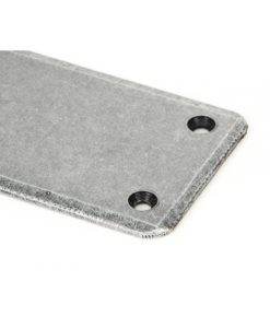 Small Pewter Fingerplate