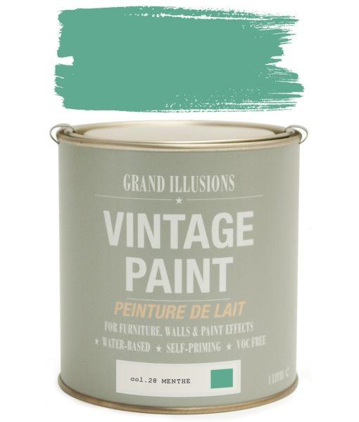 Menthe Paint Colour