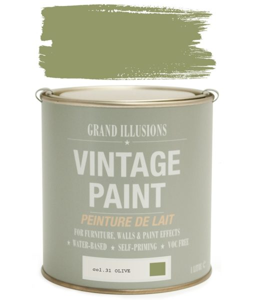 Olive Paint Colour
