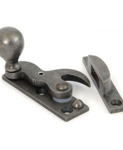 Antique Pewter Sash Hook Fastener