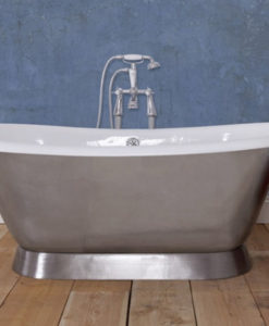 Montreal Cast Iron Bath With Polished Finish
