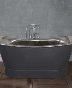 Normandy Copper Bath With Painted Finish