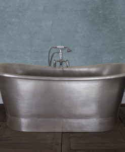 Normandy Copper Bath With Tin Finish