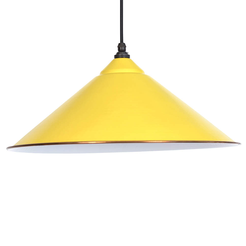 canary yellow yardley pendant light period home style