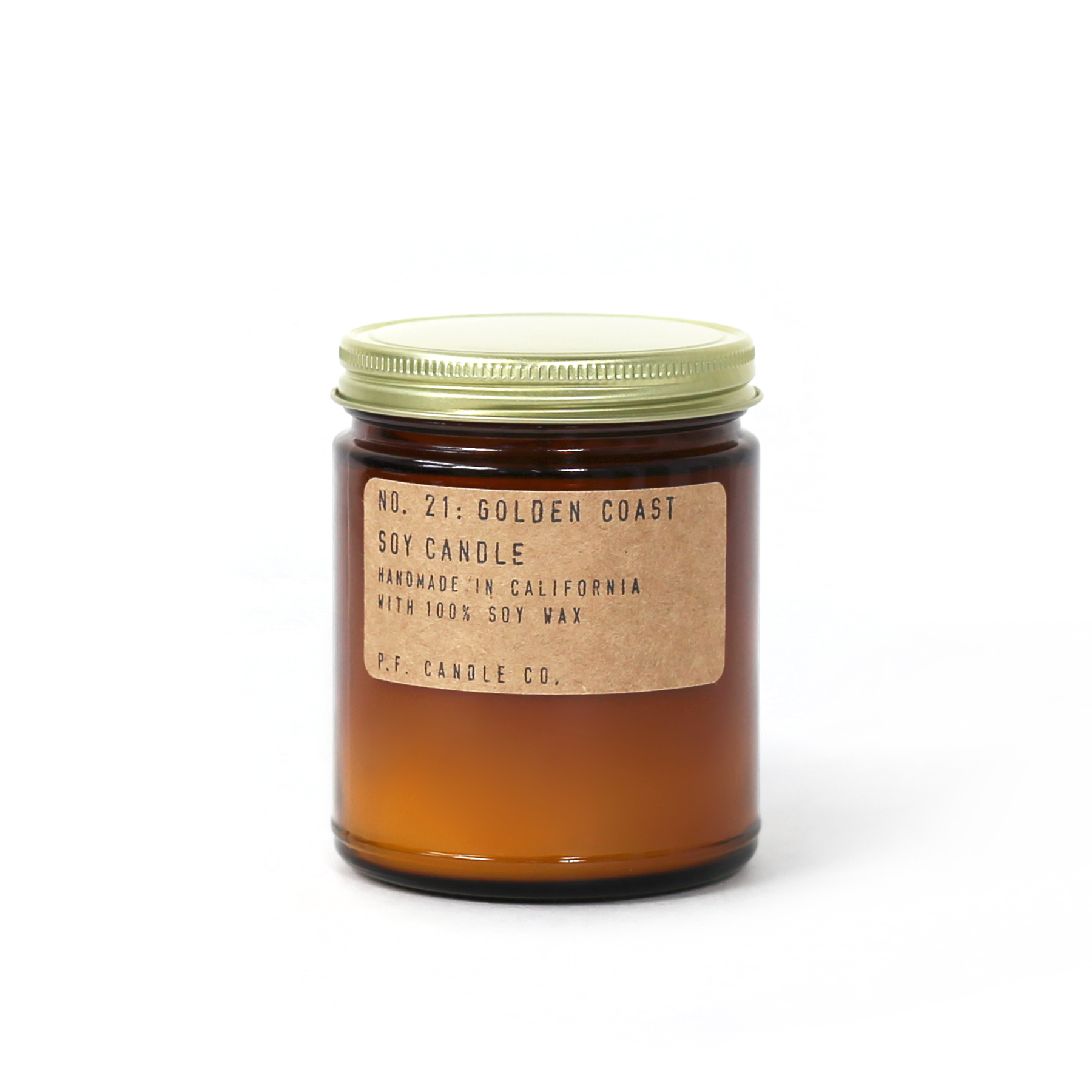Golden Coast Soy Candle By PF Candle Co