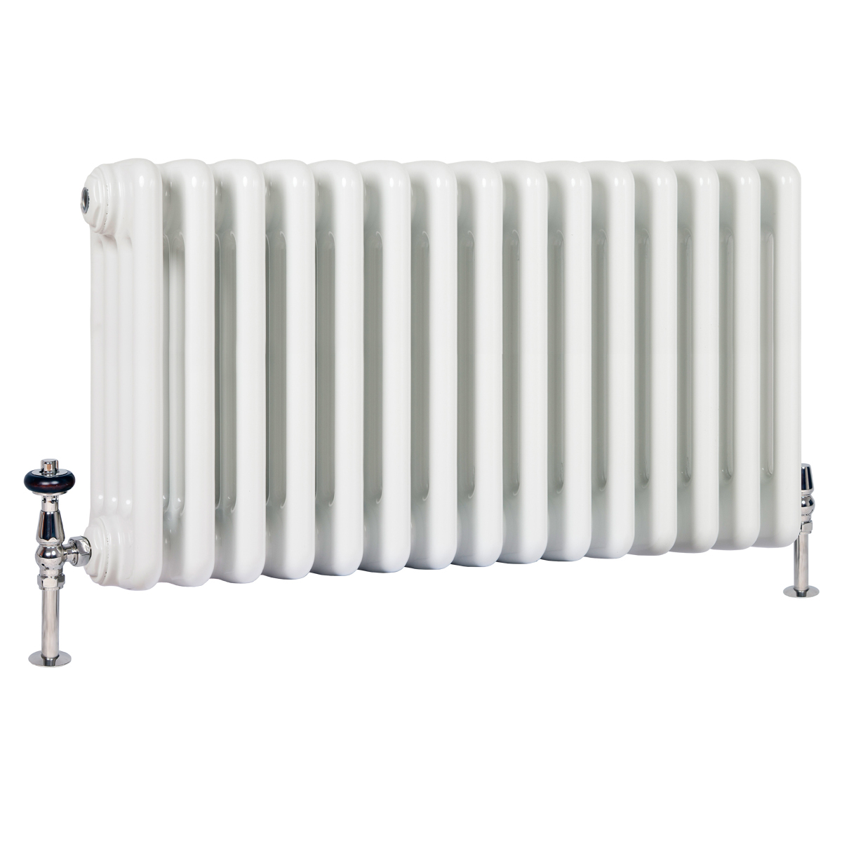 florence 4 column steel radiator decorate with period home style
