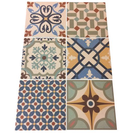 Rustic Heritage Taco Glazed Porcelain Tiles