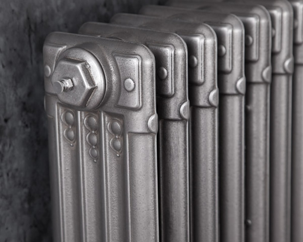 Deco Cast Iron Radiator 585mm Tall Period Home Style