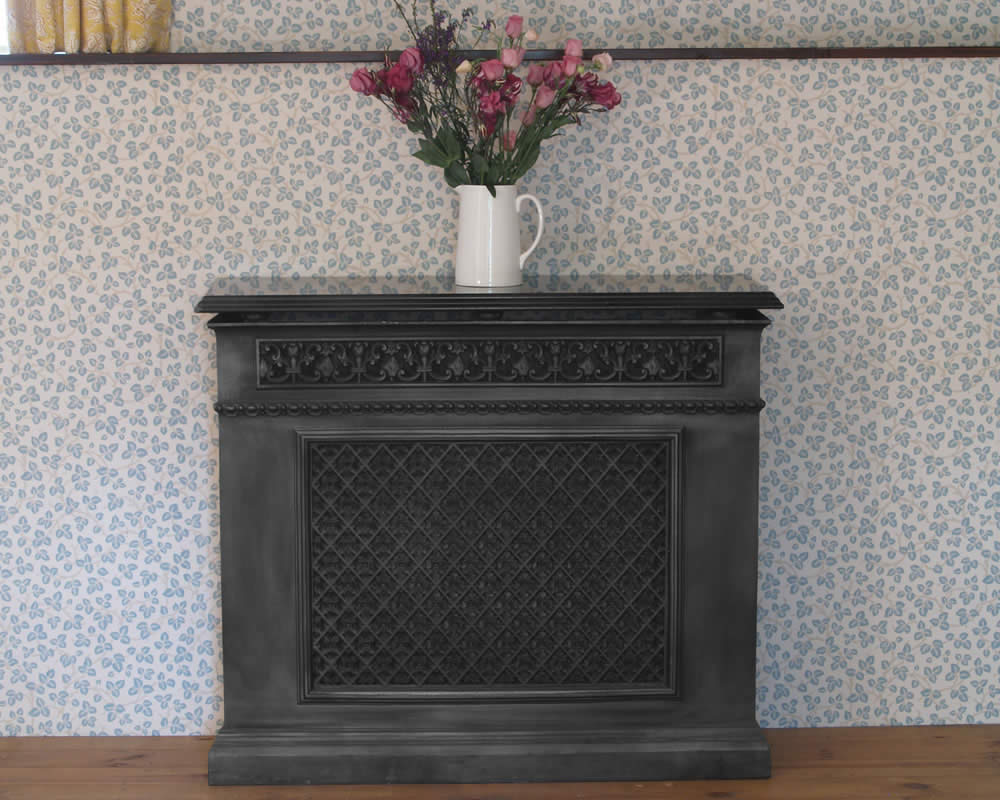 Cast Iron Single Panel Radiator Cover Period Home Style