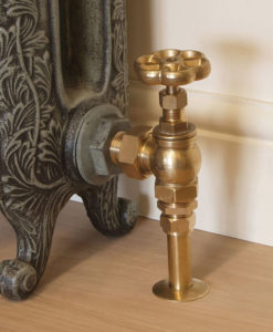 Carron Brass Radiator Pipe Shroud
