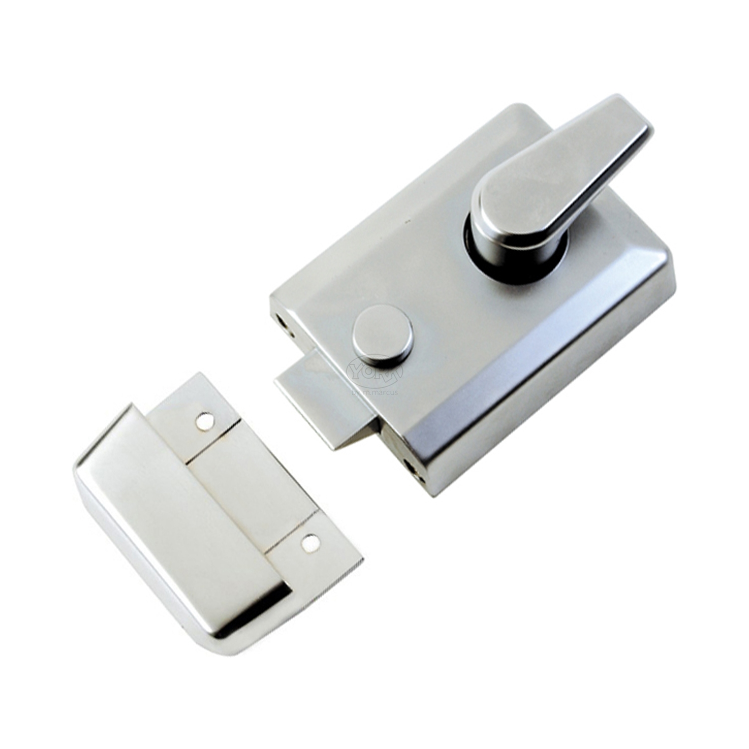 Rim Cylinder Night Latch 60mm Multiple Finishes
