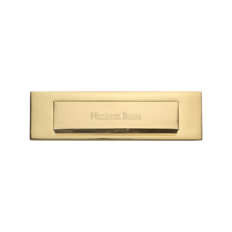 Various Finishes M Marcus Quality Heritage Brass Gravity Letter Plate Flap