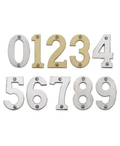 0-9 Face Fixed Thick Door Numerals