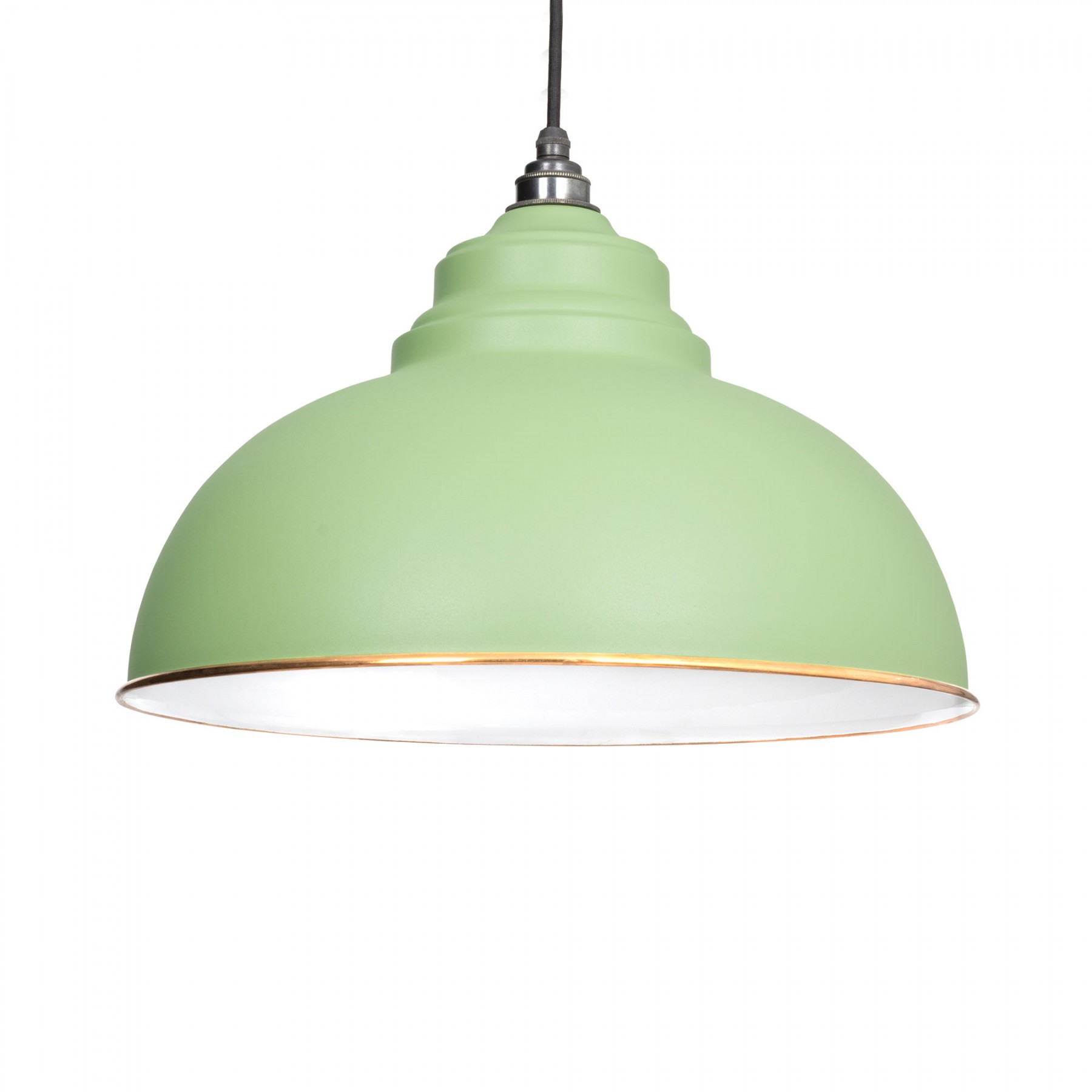 Sage green harborne pendant light period home style harborne pendant light in sage green aloadofball Image collections
