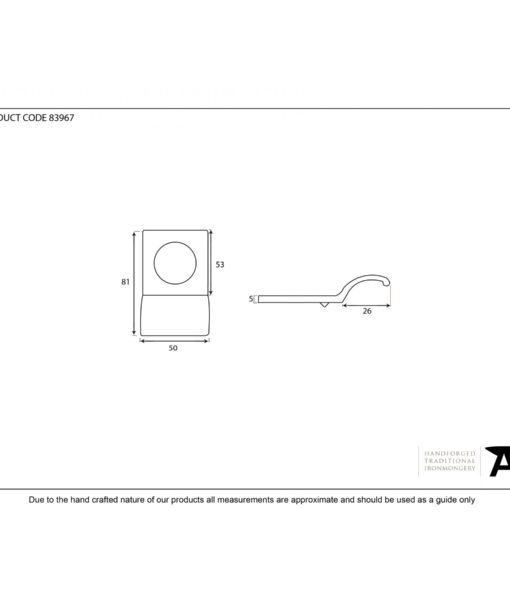 Rim Cylinder Door Pull (Aged Bronze)