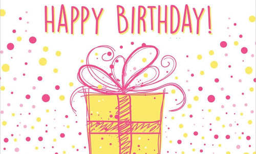 gift card image - Happy Birthday Gift Card