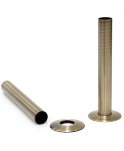Castrads Antique Brass Shrouds & Base Plates (130mm)