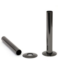 Castrads Black Nickel Shrouds & Base Plates (130mm)