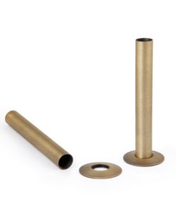 Castrads Natural Brass Shrouds & Base Plates (130mm)