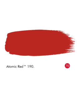 Little Greene Atomic Red Paint (190)