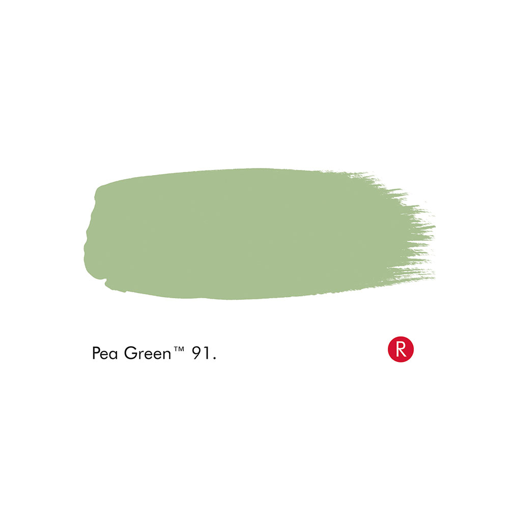 Pea Green Paint